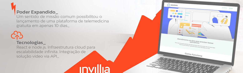 Como a Let Clinic está conectando médicos e pacientes em tempos de distanciamento social com a Invillia? A história de uma solução de telemedicina