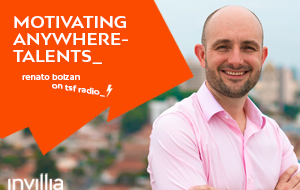 Motivating anywhere-talents: TSF radio interview
