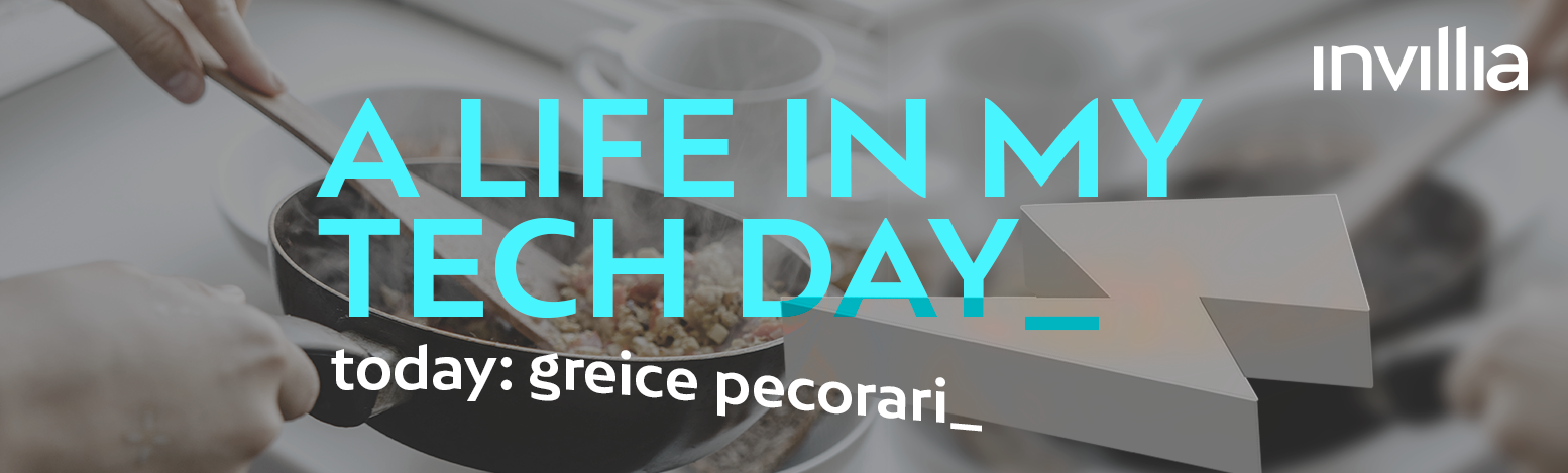 A day in my connected life, by Greice Pecorari