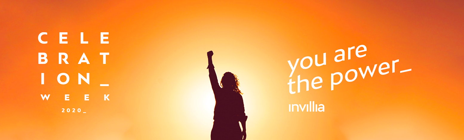 Celebration Week: you are the power