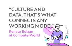 Renato Bolzan and the connected work at ComputerWorld