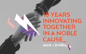 How is AACD serving thousands of disabled patients with Invillia? A 10-year relationship and donation platforms story