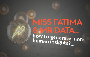 Miss Fatima's coffee and data intelligence in the connected work era
