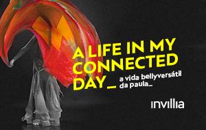 Um dia na minha vida conectada, por Paula Saldones